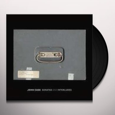 John Cage SONATAS & INTERLUDES Vinyl Record