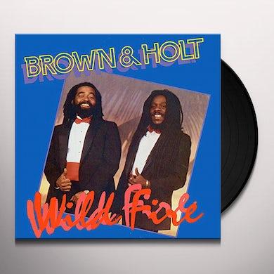 Dennis Brown / John Holt WILD FIRE Vinyl Record