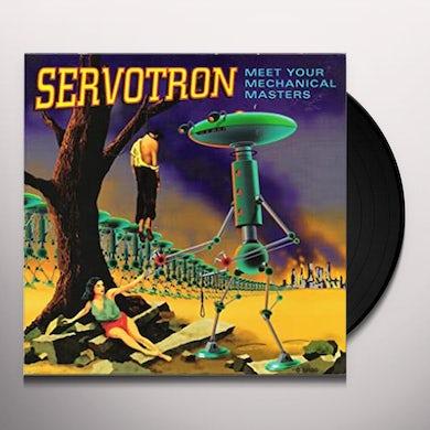 Servotron PEOPLE MOVER Vinyl Record