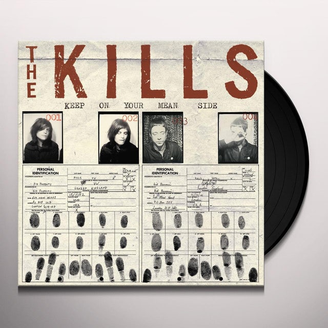 The Kills KEEP ON YOUR MEAN SIDE Vinyl Record