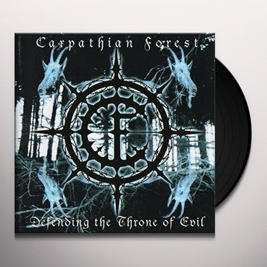 Carpathian Forest DEFENDING THE THRONE OF EVIL Vinyl Record