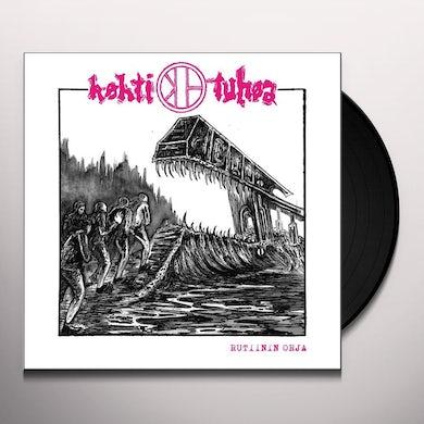 KOHTI TUHOA RUTIININ ORJA Vinyl Record