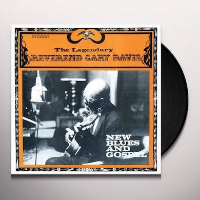 Reverend Gary Davis NEW BLUES & GOSPEL Vinyl Record