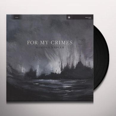 Marissa Nadler FOR MY CRIMES Vinyl Record