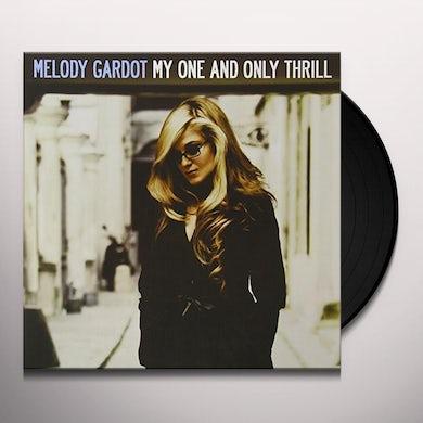 Melody Gardot MY ONE & ONLY THRILL Vinyl Record - 180 Gram Pressing
