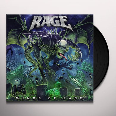 WINGS OF RAGE Vinyl Record