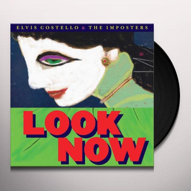 Elvis Costello LOOK NOW Vinyl Record