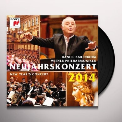Daniel Barenboim & Wiener Philharmoniker NEUJAHRSKONZERT 2014/NEW YEAR'S CONCER Vinyl Record - Holland Release