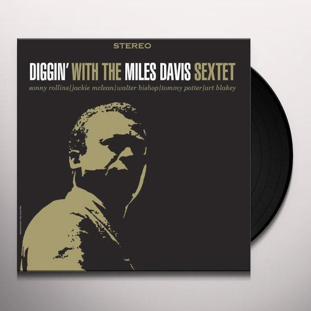 Miles Sextet Davis DIGGIN WITH Vinyl Record