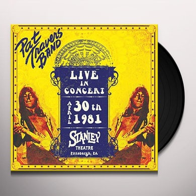 LIVE IN CONCERT APRIL 30TH 1981 - STANLEY THEATRE Vinyl Record