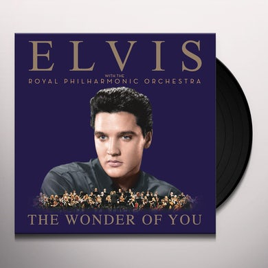WONDER OF YOU: ELVIS PRESLEY WITH ROYAL PHILHARMON Vinyl Record