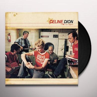 Celine Dion 1 FILLE & 4 TYPES Vinyl Record