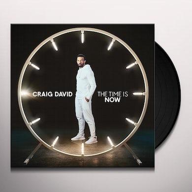 Craig David TIME IS NOW Vinyl Record