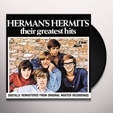 Herman'S Hermits GREATEST HITS Vinyl Record
