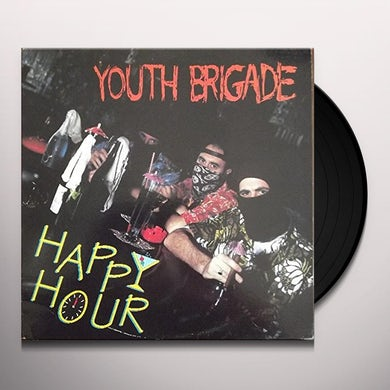 Youth Brigade HAPPY HOUR Vinyl Record