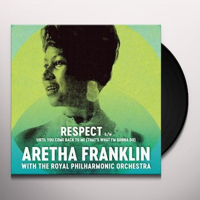 Aretha Franklin   Respect/Until You Come Back to Me (That's What I'm Gonna Do) Vinyl Record