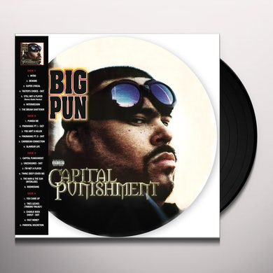 Big Pun CAPITAL PUNISHMENT (20TH ANNIVERSARY PICTURE DISC) Vinyl Record