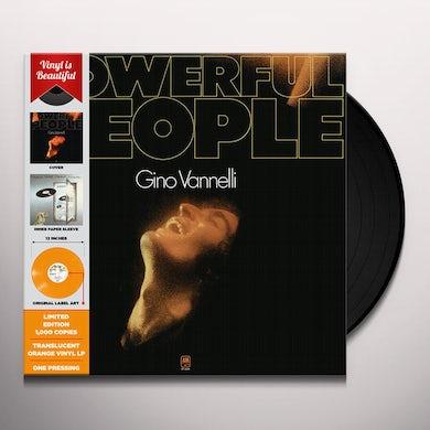 Gino Vannelli POWERFULL PEOPLE Vinyl Record