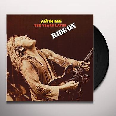 Alvin Lee & Ten Years Later RIDE ON Vinyl Record