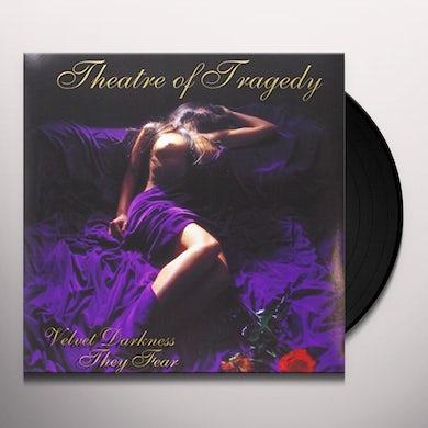 Theatre Of Tragedy VELVET DARKNESS THEY FEAR (BONUS TRACKS) Vinyl Record - Limited Edition