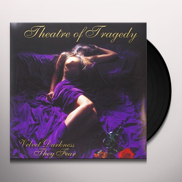 Theatre Of Tragedy VELVET DARKNESS THEY FEAR (BONUS TRACKS) Vinyl Record - Limited Edition