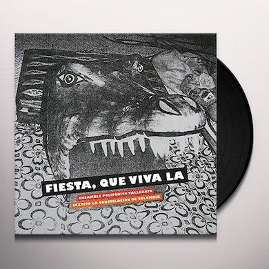 ENSAMBLE POLIFONICO VALLENATO FIESTA QUE VIVA LA Vinyl Record