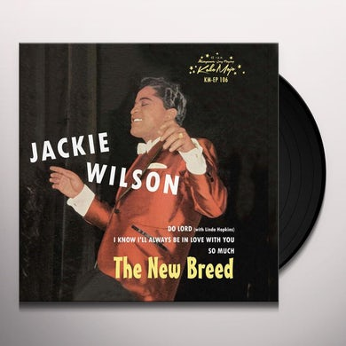 Jackie Wilson NEW BREED Vinyl Record