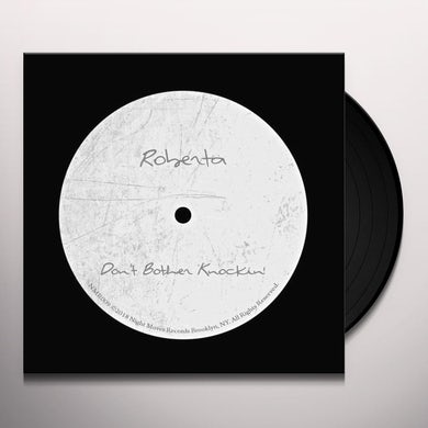 Roberta DON'T BOTHER KNOCKIN Vinyl Record