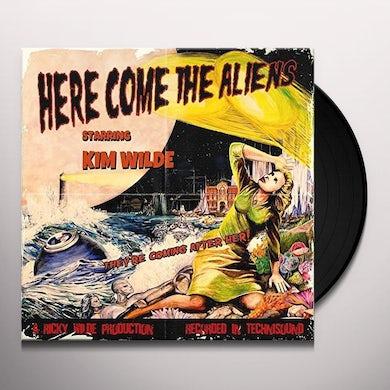 Kim Wilde HERE COME THE ALIENS Vinyl Record