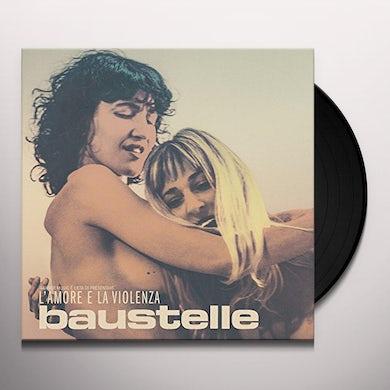 Baustelle L'AMORE E LA VIOLENZA Vinyl Record