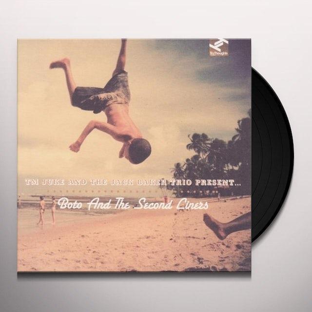 TM JUKE / JACK BAKER TRIO BOTO & THE SECOND LINERS Vinyl Record