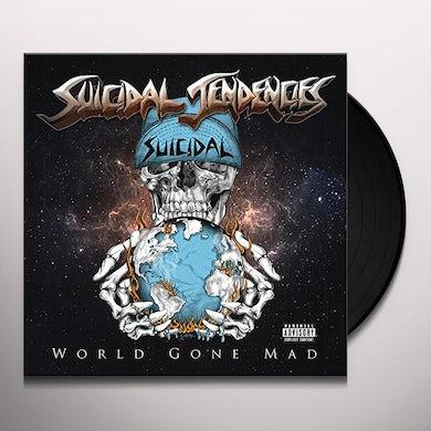 Suicidal Tendencies WORLD GONE MAD (BLACK VINYL) Vinyl Record