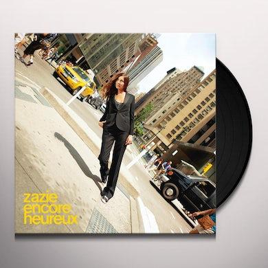 Zazie ENCORE HEUREUX (2LP) Vinyl Record