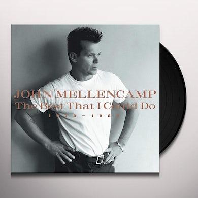 John Mellencamp BEST THAT I COULD DO 1978-1988 Vinyl Record