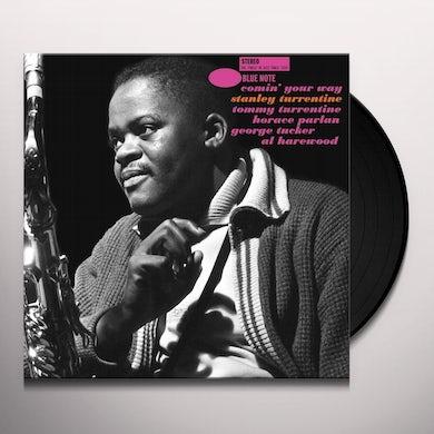 Stanley Turrentine COMIN YOUR WAY Vinyl Record