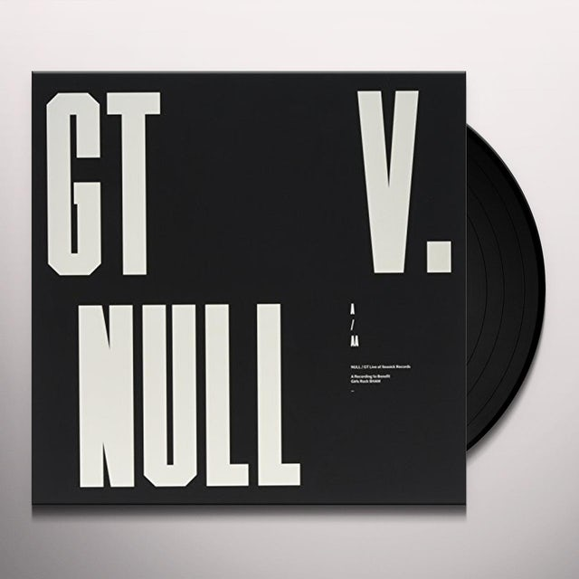Null / Gt LIVE AT SEASICK RECORDS Vinyl Record