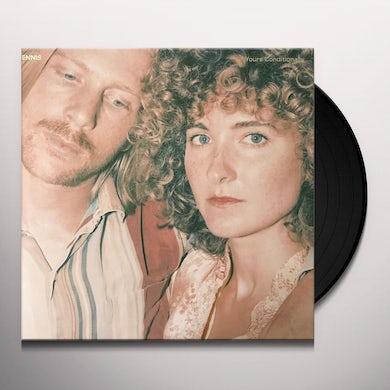 Tennis YOURS CONDITIONALLY Vinyl Record