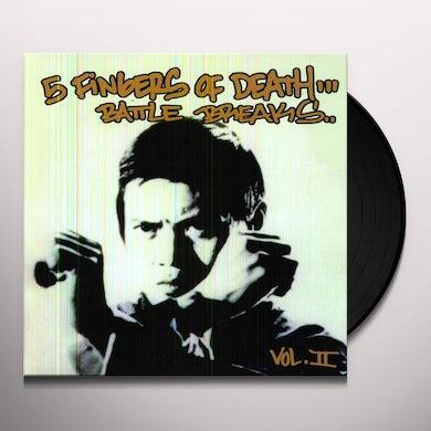 Five Fingers Of Death 2 Vinyl Record
