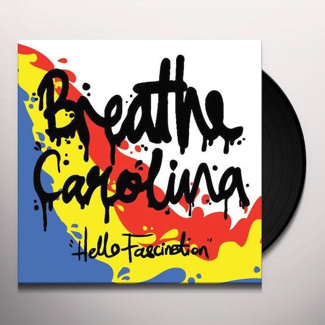 Breathe Carolina HELLO FASCINATION Vinyl Record