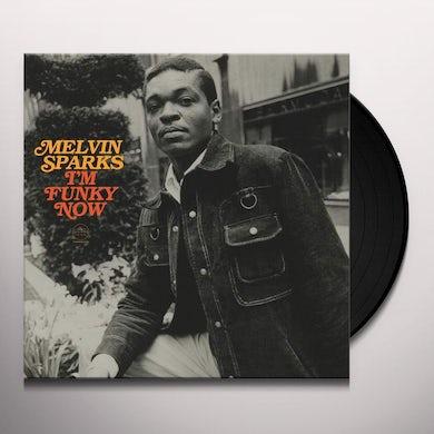 Melvin Sparks I'M FUNKY NOW Vinyl Record