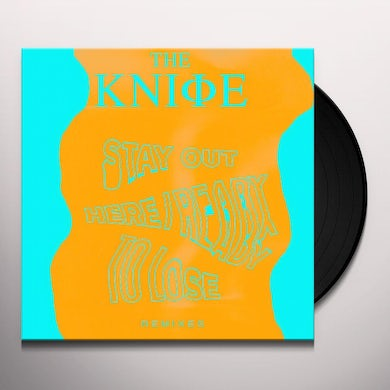 The Knife READY TO LOSE / STAY OUT HERE Vinyl Record - Remixes