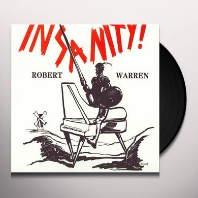 Robert Warren INSANITY Vinyl Record