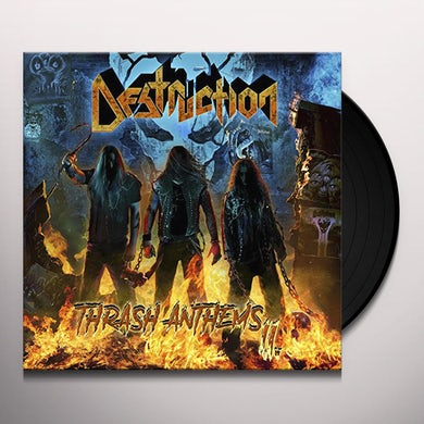 Destruction THRASH ANTHEMS II Vinyl Record