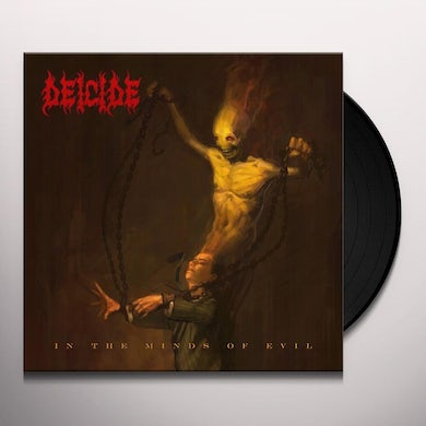 Deicide IN THE MINDS OF EVIL Vinyl Record