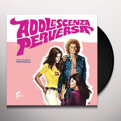 Franco Micalizzi ADOLESCENZA PERVERSA Vinyl Record