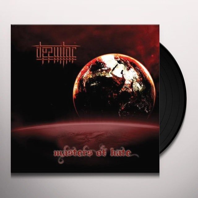 Desultor MASTERS OF HATE Vinyl Record
