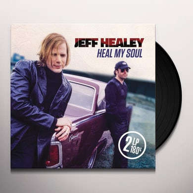 Jeff Healey HEAL MY SOUL Vinyl Record