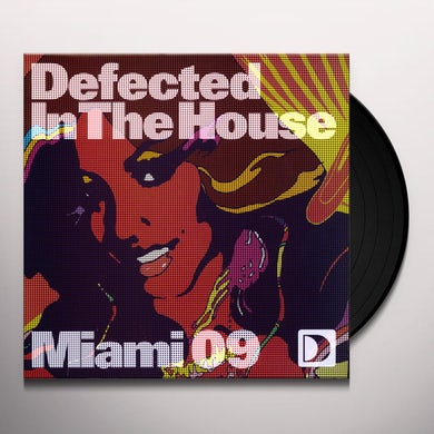 DEFECTED IN THE HOUSE: MIAMI 09 3 / VAR Vinyl Record