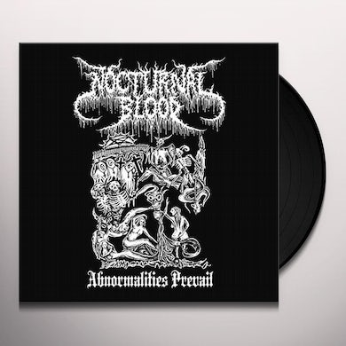 Nocturnal Blood ABNORMALITIES PREVAIL Vinyl Record