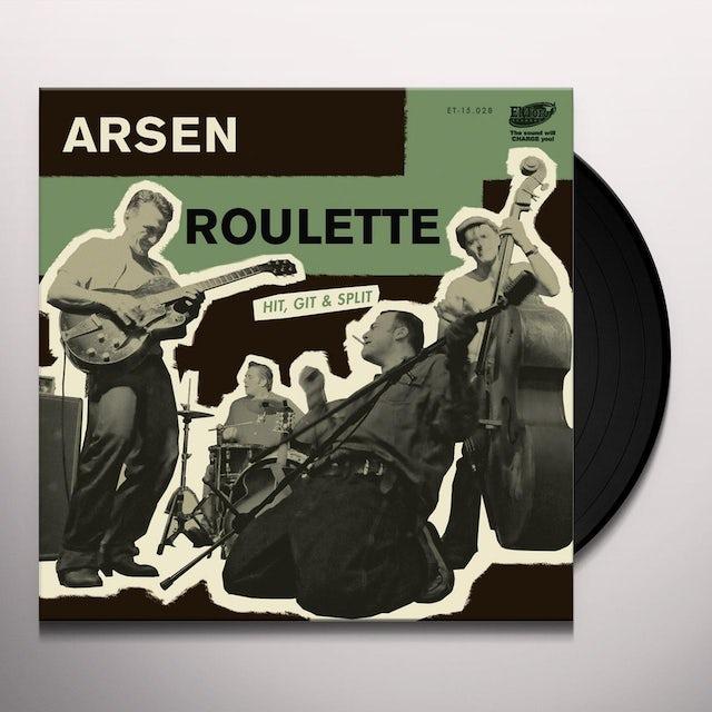 Arsen Roulette HIT GIT & SPLIT Vinyl Record